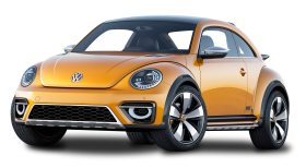 Volkswagen Beetle Dune Orange Car