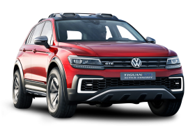 Volkswagen Tiguan GTE Active Red Car
