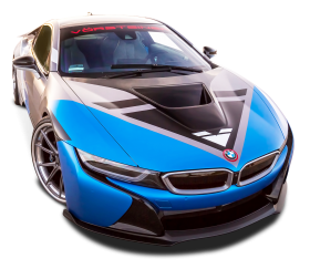 Vorsteiner BMW i8 VR E Blue Car