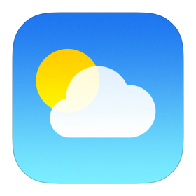 Weather Icon iOS 7
