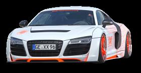 White Audi R8 Car