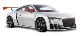 White Audi TT Clubsport Turbo Car