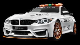 White BMW M4 GTS Safety Car