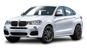 White BMW X3 Car