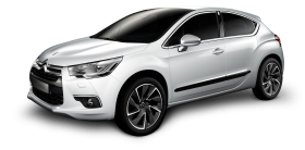 White Citroen DS4 Car