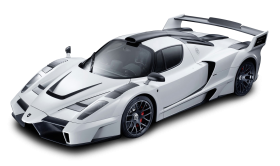 White Ferrari Enzo Racing Car