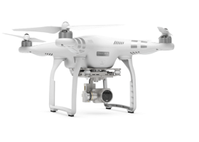 White Flying Drone