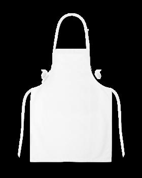 White Full Apron