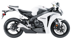 White Honda CBR1000RR