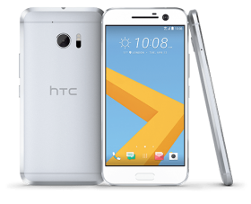 white htc phone