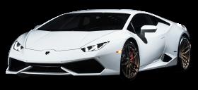 White Lamborghini Huracan Car
