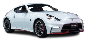 White Nissan 370Z NISMO Car