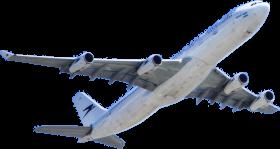 White Passenger Plane Flying on Sky
