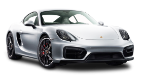 White Porsche Cayman GTS Car