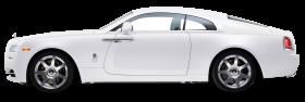 White Rolls Royce Wraith Car