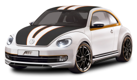 White Volkswagen Beetle Car
