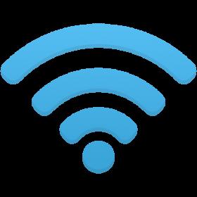 Wifi Icon Blue