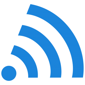 Wifi Icon Blue
