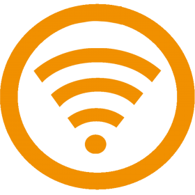 Wifi Icon Yellow