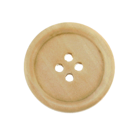 Wooden Buttons For Clothes & Bag
