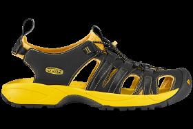 Yellow Black Sandal