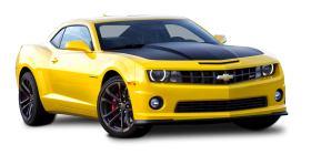 Yellow Chevrolet Camaro 1LE Car