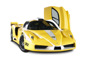 Yellow Ferrari Enzo Edo Car