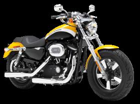 Yellow Harley Davidson 1200 Sportster