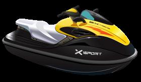 Yellow Jet Ski