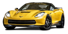Yellow Ruffer Chevrolet Corvette HPE700 Car
