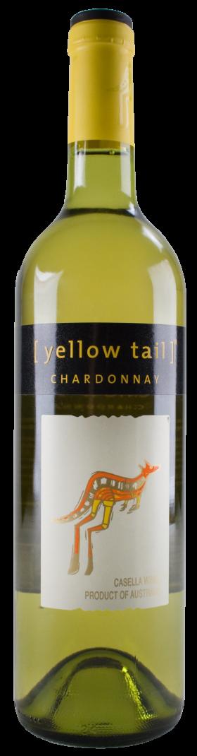 Yellow Tail Wine Bottle