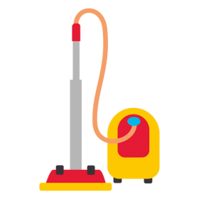 Yellow Vacuum Cleaner