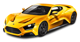 Yellow Zenvo ST1 Car