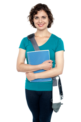 Young Girl Student