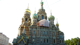 Cathederal of the Resurrection of Christ -Russia