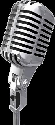 Silver HQ Microphone