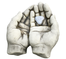 Stone made Hands