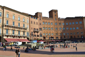 Summer Time at a Public Square – Italy