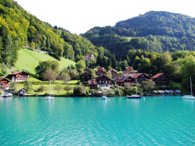 Boat-riding in Summer -Switzerland
