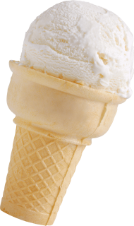 Vanilla Small Horn Ice Cream