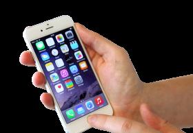 White Apple iPhone Smartphone